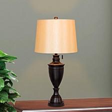 "1587BZ 31"" Classic Urn Metal Table Lamp"