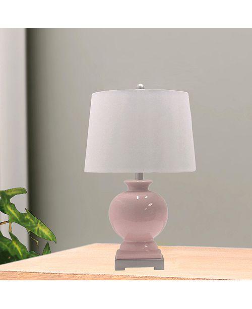"""FANGIO LIGHTING 8943BLS 24"""" Ceramic Table Lamp"""