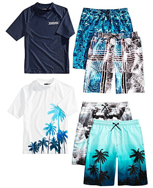 1d12185a022b0 Ideology Big Boys Swimwear Mix and Match Separates, Created for Macy's