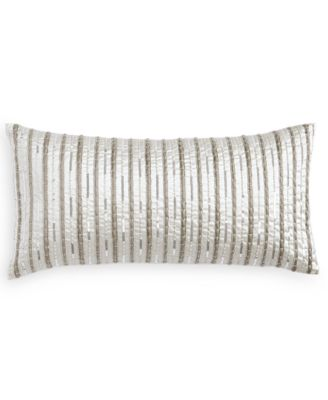 """Silverwood 12"""" x 24"""" Decorative Pillow, Created for Macy's"""