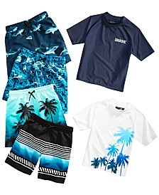 Ideology Little Boys Swimwear Mix and Match Separates, Created for Macy's