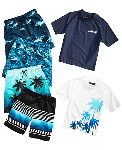 7cd93e7cf564f Ideology Toddler Boys Swimwear Mix and Match Separates, Created for ...