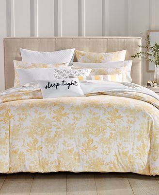 Watercolor Leaf Bedding Collection Created For Macy S
