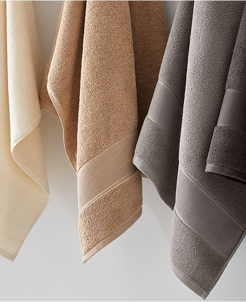 Sanders Antimicrobial Cotton Solid Bath Towel Collection