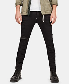 Men's Skinny-Fit Moto Jeans, Created for Macy's