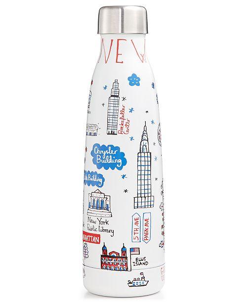 Macy's Julia Gash Designer Double Wall Stainless Steel Water Bottle
