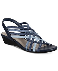 Impo Refresh Stretch Wedge Sandals