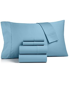 CLOSEOUT! Charter Club 600-Thread Count 6-Pc. California King Sheet Set, Created for Macy's