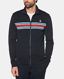 Original Penguin Men's Stripe Track Jacket