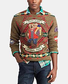 Polo Ralph Lauren Men's Great Outdoors Hiking Bear Sweater