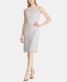 Lauren Ralph Lauren Petite Lace Dress