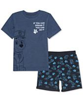 f6174b933 Nickelodeon Little Boys T-Shirt & Shorts Set