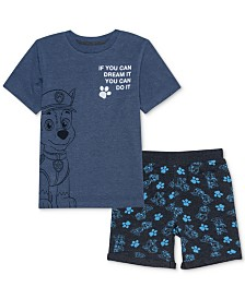 Nickelodeon Little Boys T-Shirt & Shorts Set