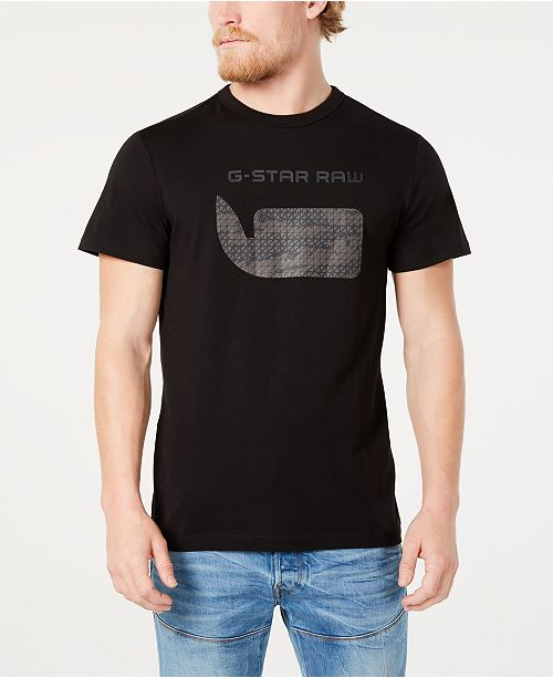 G-Star Raw Men's Hamburger Logo Graphic T-Shirt, Created for Macy's