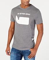 4ae6096ea9dbe G-Star RAW Men's Whale Logo T-Shirt, Created for Macy's