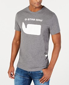 G-Star RAW Men's Whale Logo T-Shirt, Created for Macy's