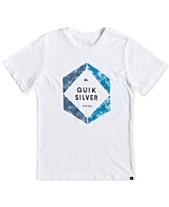 464afe398431 Quiksilver Boys Hexa Logo T-Shirt