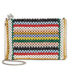 Betsey Johnson Beads And More Beads Crossbody