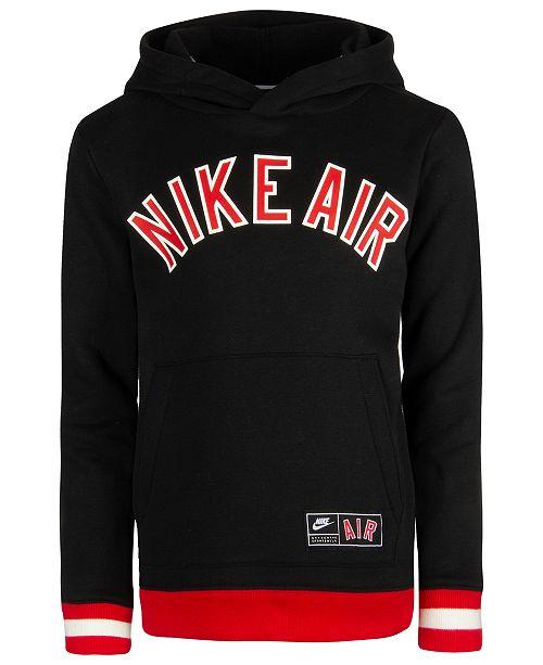 03b7987cc1e2 Nike Toddler Boys Air-Print Hoodie   Reviews - Sweatshirts   Hoodies ...