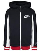 fcea6b3b4 Nike Little Boys Air Sueded Fleece Full-Zip Hoodie
