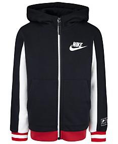1759565f70 Nike Little Boys Air Sueded Fleece Full-Zip Hoodie