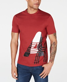 "A|X Armani Exchange Men's Dashed ""Logo Graphic T-Shirt"