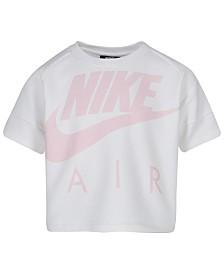 Nike Little Girls Air LogoGraphic Crop Top