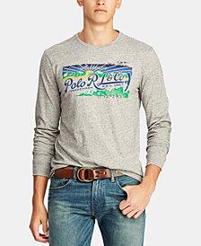 Polo Ralph Lauren Men's Great Outdoors Custom Slim Fit Long Sleeve T-Shirt