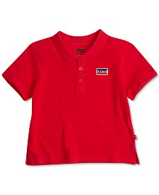 Levi's® Big Girls Cropped Cotton Polo Shirt