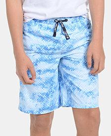 Calvin Klein Big Boys Geo-Print Volley Swimsuit