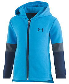 Under Armour Little Boys Full-Zip Fleece Hoodie