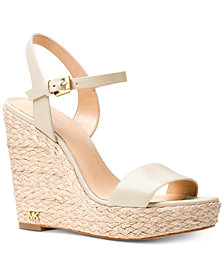 MICHAEL Michael Kors Jill Espadrille Wedge Sandals