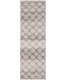 "Safavieh Adirondack Silver and Charcoal 2'6"" x 8' Area Rug"
