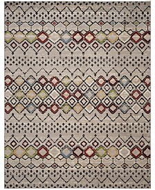 Safavieh Amsterdam Light Gray and Multi 8' x 10' Sisal Weave Area Rug
