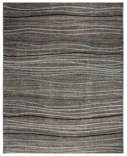 Safavieh Amsterdam Silver and Beige 8' x 10' Area Rug