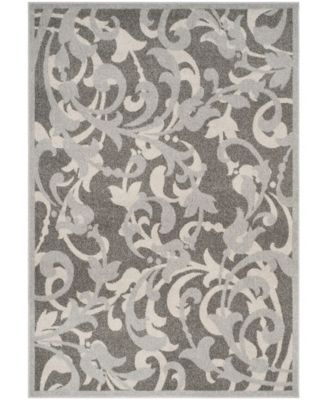 Amherst Gray and Light Gray 5' x 8' Area Rug