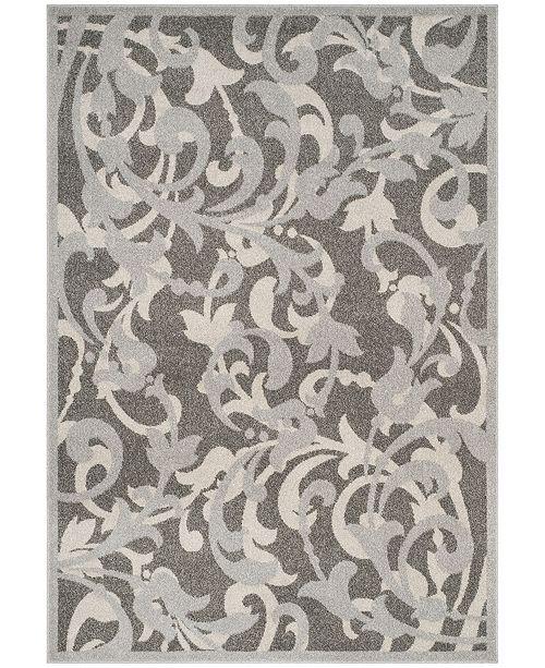 Safavieh Amherst Gray and Light Gray 5' x 8' Area Rug