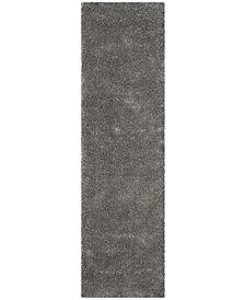 """Safavieh Colorado Shag Light Gray 2'3"""" x 8' Area Rug"""