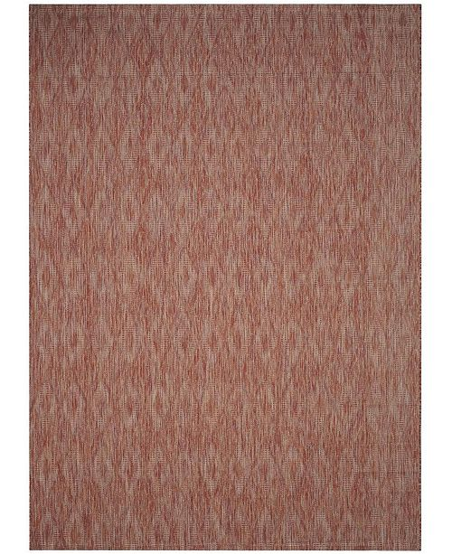 Safavieh Courtyard Red 8' x 11' Area Rug