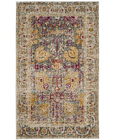 Granada Light Gray and Multi 3' x 5' Area Rug
