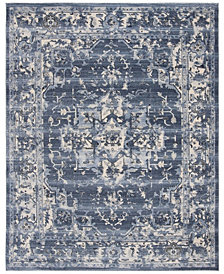 """Safavieh Hollywood Ivory and Rose 6'7"""" x 6'7"""" Square Area Rug"""