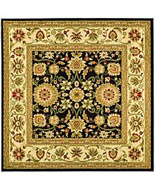 Safavieh Lyndhurst Black and Ivory 6' x 6' Square Area Rug