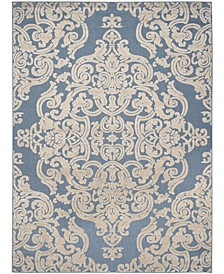"Cottage Blue 8' x 11'2"" Area Rug"