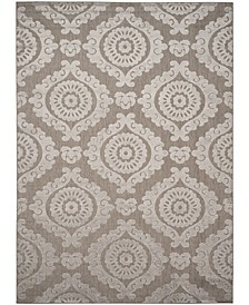 """Cottage Taupe 8' x 11'2"""" Area Rug"""