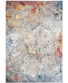 "Safavieh Monray Red and Multi 5'1"" x 7'6"" Area Rug"