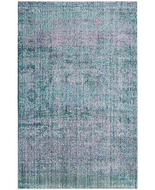 Safavieh Mystique Purple and Multi 4' x 6' Area Rug