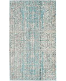 Mystique Light Blue and Multi 3' x 5' Area Rug