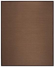 Natural Fiber Brown 8' x 10' Sisal Weave Rug