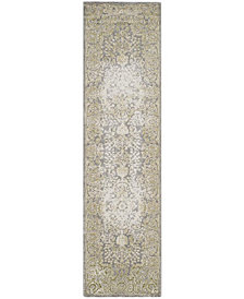 """Safavieh Passion Gray and Green 2'2"""" x 8' Area Rug"""
