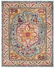Safavieh Phoenix Turquoise and Beige 8' x 10' Area Rug